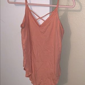 Abercrombie and Fitch Peach Tank Top